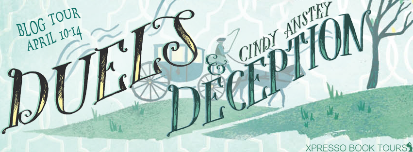 Blog Tour: Duels and Deception by Cindy Anstey