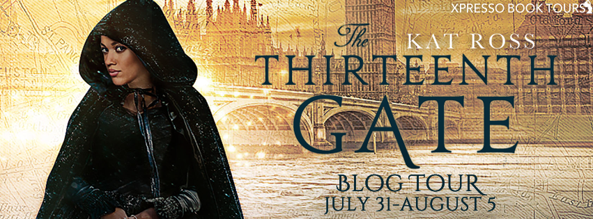 Blog Tour: The Thirteenth Gate (Dominion Mysteries #2) by Kat Ross